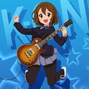 Rating: Safe Score: 12 Tags: asanaya guitar hirasawa_yui k-on! pantyhose seifuku skirt_lift User: Munchau