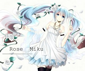 Rating: Safe Score: 44 Tags: dress hatsune_miku ryo_neko thighhighs vocaloid User: zero|fade