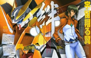 Rating: Safe Score: 4 Tags: allelujah_haptism chiba_michinori gundam gundam_00 gundam_00:_a_wakening_of_the_trailblazer gundam_harute male mecha ootsuka_ken uniform User: lagosta