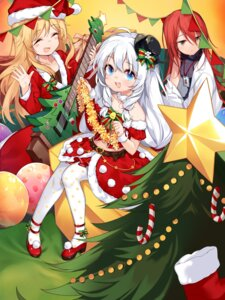 Rating: Safe Score: 12 Tags: christmas dress guitar heels soul_worker takotsu User: Mr_GT