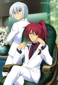 Rating: Safe Score: 4 Tags: business_suit cardfight_vanguard male suzugamori_ren yahagi_kyou yoshihama_nobuyuki User: drop