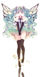 Rating: Safe Score: 116 Tags: caidychen hatsune_miku thighhighs vocaloid wings User: 椎名深夏