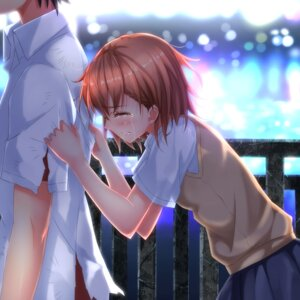 Rating: Safe Score: 25 Tags: kamijou_touma misaka_mikoto seifuku swordsouls to_aru_kagaku_no_railgun to_aru_majutsu_no_index User: SubaruSumeragi