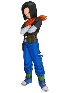 Rating: Safe Score: 3 Tags: android_17 dragon_ball dragon_ball_z male User: Radioactive