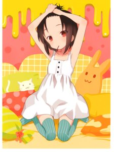 Rating: Safe Score: 17 Tags: a_channel dress ichii_tooru kuroda_bb thighhighs User: Radioactive
