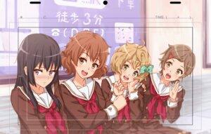 Rating: Questionable Score: 9 Tags: hibike!_euphonium katou_hazuki_(hibike!_euphonium) kawashima_sapphire kazeno kousaka_reina oumae_kumiko seifuku User: Dreista