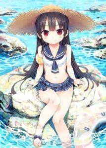 Rating: Questionable Score: 87 Tags: bikini cura hachiroku lose maitetsu seifuku swimsuits wet User: Twinsenzw