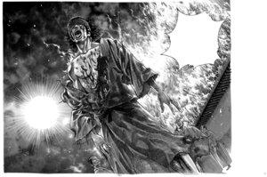 Rating: Safe Score: 4 Tags: blood inoue_takehiko male monochrome vagabond User: Umbigo