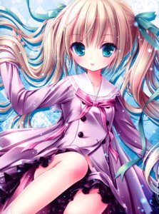 Rating: Safe Score: 113 Tags: disc_cover misawa_maho ro-kyu-bu! ro-kyu-bu!_ss seifuku tinkerbell tinkle User: Twinsenzw