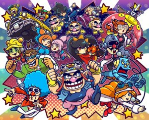 Rating: Questionable Score: 5 Tags: ana_(warioware) ashley_(warioware) kat_(warioware) mecha megane mona_(warioware) nintendo pointy_ears wario warioware User: nevar-kun