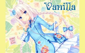 Rating: Safe Score: 67 Tags: animal_ears dress neko_para nekomimi sayori vanilla wallpaper User: RyuZU