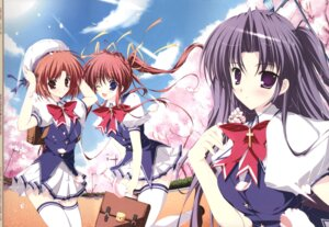 Rating: Safe Score: 16 Tags: asakura_nanao hagiwara_tomoe lyrical_lyric mikeou takami_rin User: Anonymous