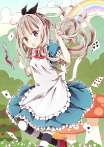 Rating: Safe Score: 40 Tags: alice alice_in_wonderland dress heripiro User: Mr_GT