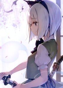 Rating: Safe Score: 72 Tags: ke-ta konpaku_youmu sword tagme touhou User: kiyoe