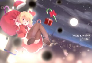 Rating: Safe Score: 30 Tags: christmas dress nopan rumia septet_(zrca_janne) thighhighs touhou User: Mr_GT