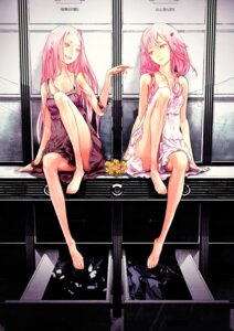 Rating: Safe Score: 137 Tags: dress guilty_crown ouma_mana redjuice summer_dress yuzuriha_inori User: Azraelson