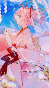 Rating: Safe Score: 24 Tags: kaname_madoka kimono kyubey puella_magi_madoka_magica rumoon User: BattlequeenYume