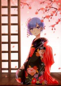 Rating: Safe Score: 32 Tags: kimono milktower re_zero_kara_hajimeru_isekai_seikatsu rem_(re_zero) User: charunetra