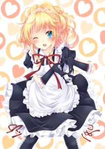 Rating: Safe Score: 34 Tags: hatachi maid User: blooregardo