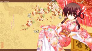 Rating: Safe Score: 51 Tags: hakurei_reimu kimono kom touhou umbrella wallpaper User: Mr_GT
