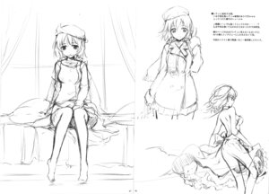 Rating: Questionable Score: 14 Tags: dress ke-ta monochrome no_bra see_through sketch touhou User: red_destiny