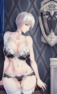 Rating: Questionable Score: 58 Tags: bra cameltoe cleavage limeblock pantsu thighhighs User: Mr_GT