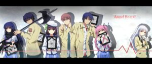Rating: Safe Score: 20 Tags: angel_beats! hinata_(angel_beats!) noda otonashi sakamuke seifuku shiina tenshi weapon yui_(angel_beats!) yurippe User: Ponnkun
