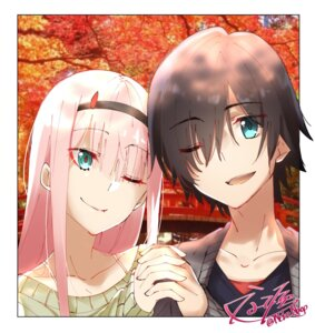 Rating: Safe Score: 10 Tags: darling_in_the_franxx hiro_(darling_in_the_franxx) horns nakoya_(nane_cat) zero_two_(darling_in_the_franxx) User: Михайлович