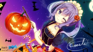 Rating: Safe Score: 31 Tags: autographed cleavage halloween konata seiken_tsukai_no_proposition tagme unicorn wallpaper User: 糖果部部长
