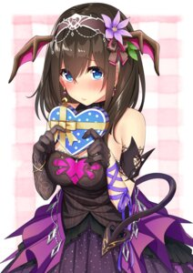 Rating: Safe Score: 31 Tags: cleavage dress go-1 sagisawa_fumika tail the_idolm@ster the_idolm@ster_cinderella_girls valentine wings User: Mr_GT