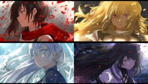 Rating: Safe Score: 35 Tags: blake_belladonna isshoku ruby_rose rwby weiss_schnee yang_xiao_long User: Radioactive