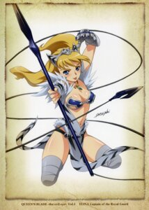 Rating: Questionable Score: 24 Tags: cleavage elina hisayuki_hirokazu queen's_blade thighhighs User: blooregardo