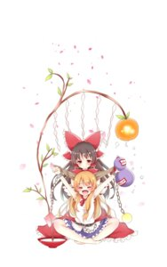 Rating: Safe Score: 17 Tags: feet ibuki_suika sisterakuma touhou User: KazukiNanako
