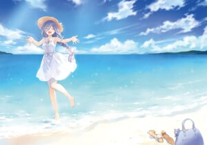 Rating: Safe Score: 39 Tags: date_a_live detexted dress landscape summer_dress takamiya_mio tsunako wet User: kiyoe