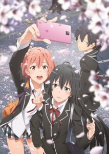 Rating: Safe Score: 35 Tags: hikigaya_hachiman seifuku tagme yahari_ore_no_seishun_lovecome_wa_machigatteiru. yuigahama_yui yukinoshita_yukino User: saemonnokami
