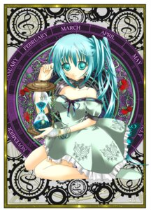 Rating: Safe Score: 11 Tags: dress hatsune_miku vocaloid yuuki_kira User: charunetra