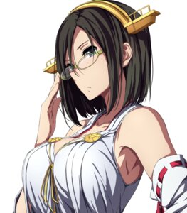 Rating: Safe Score: 66 Tags: cleavage japanese_clothes kantai_collection kirishima_(kancolle) megane sblack User: mash