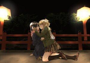 Rating: Safe Score: 39 Tags: aihara_mei aihara_yuzu_(citrus) citrus_(manga) fujisaki_ribbon seifuku yuri User: hiroimo2