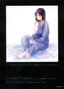 Rating: Safe Score: 2 Tags: kara_no_kyoukai robe ryougi_shiki takeuchi_takashi type-moon User: fireattack