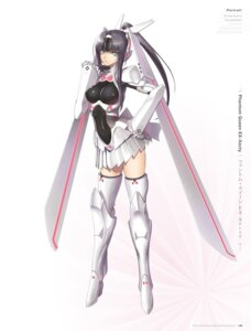 Rating: Questionable Score: 32 Tags: digital_version erect_nipples heels mecha_musume thighhighs tony_taka User: Twinsenzw