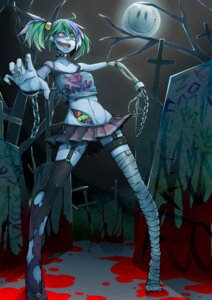 Rating: Questionable Score: 27 Tags: bandages guro regura stockings thighhighs User: Radioactive
