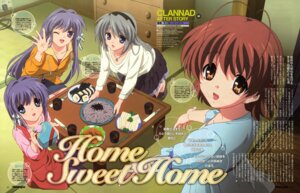 Rating: Safe Score: 13 Tags: clannad clannad_after_story dress fujibayashi_kyou fujibayashi_ryou furukawa_nagisa pantyhose sakagami_tomoyo takahashi_mariko User: sdlin2006