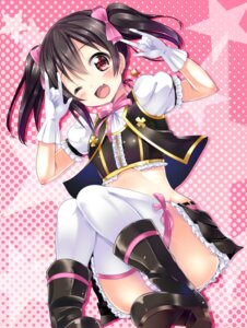 Rating: Questionable Score: 66 Tags: kurou_(quadruple_zero) loli love_live! pantsu shimapan thighhighs yazawa_nico User: SubaruSumeragi