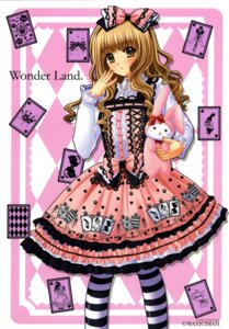 Rating: Safe Score: 23 Tags: dress lolita_fashion nishimata_aoi pantyhose User: fireattack