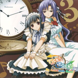 Rating: Safe Score: 17 Tags: ai disc_cover dress maid sage shuffle suzuhira_hiro tick_tack User: Radioactive