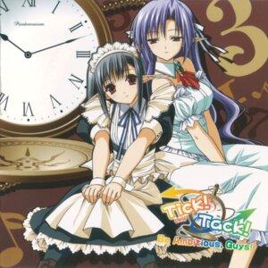 Rating: Safe Score: 18 Tags: ai disc_cover dress maid sage shuffle suzuhira_hiro tick_tack User: Radioactive