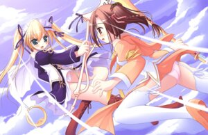 Rating: Questionable Score: 16 Tags: happiness hiiragi_anri kamisaka_haruhi ko~cha pantsu windmill User: admin2