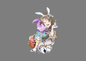 Rating: Safe Score: 26 Tags: animal_ears bunny_ears cropme love_live!_sunshine!! neko thighhighs transparent_png watanabe_you User: saemonnokami