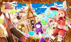 Rating: Safe Score: 8 Tags: bandages gretel_(hansel_and_gretel) hanada_hyou hansel_and_gretel hansel_(hansel_and_gretel) tutorial User: crim