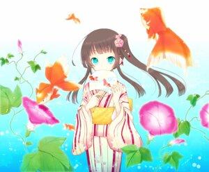 Rating: Safe Score: 25 Tags: goma_(11zihisin) yukata User: dreamer2908
